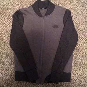 The North Face hoodie/jacket size Large in gray